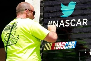 Twitter 1st TV Ad, Promotes NASCAR