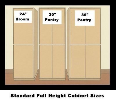 kitchen pantry cabinet sizes 17 best images about pantry options on kitchen 21924
