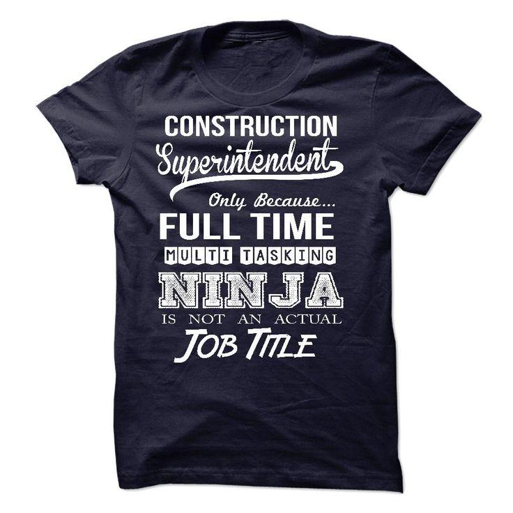 11 best Superintendent T Shirts \ Hoodies images on Pinterest - construction superintendent job description