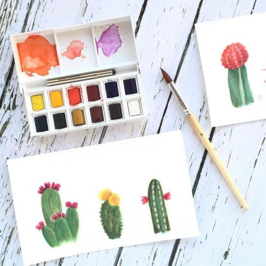 A series on watercolors for beginners. This post talks about what kinds of supplies you need to start painting.
