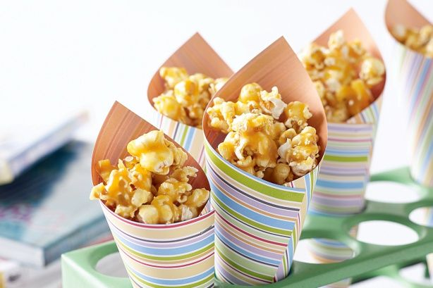 Honey-caramel popcorn - my daughter made this and it was seriously good.