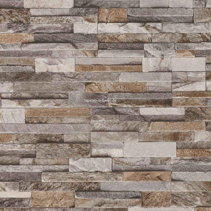 tapete steinoptik steintapete online kaufen - Steintapete Beige Wohnzimmer