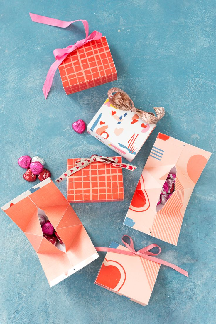 Printable Valentine's Day Candy Boxes - The House That Lars Built