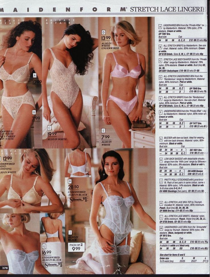 british lingerie manufacturing catalogues