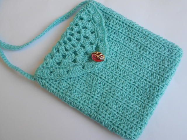 Crochet Small Cute Purse | FaveCrafts.com