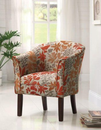 Unique Chairs For Living Room. Our Autumn leaves barrel back accent chair featuring tapered wood legs  This beautiful chairs is LeavesLiving Room 15 best Decorative Chairs images on Pinterest Upholstered