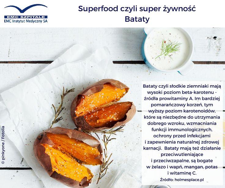#superfood na dziś to ciekawa alternatywa dla klasycznego ziemniaka - batat, czyli słodki ziemniak. Bogactwo składników, ciekawy, słodki smak i piękny kolor. Trudno się oprzeć :)