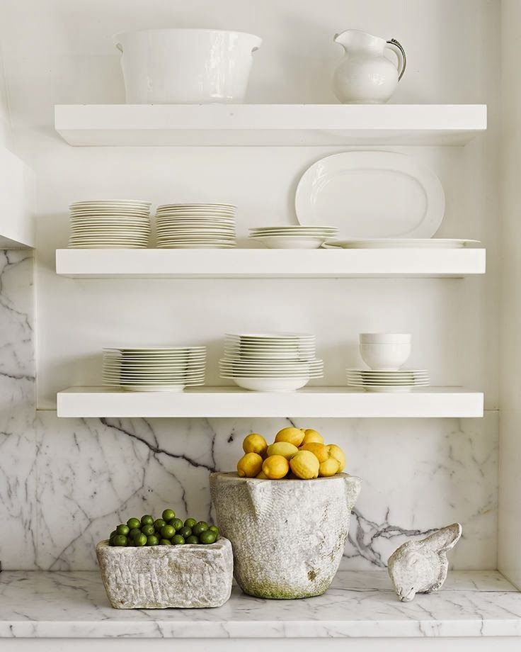 White Kitchen Shelves 242 best kitchens, open shelving images on pinterest | kitchen