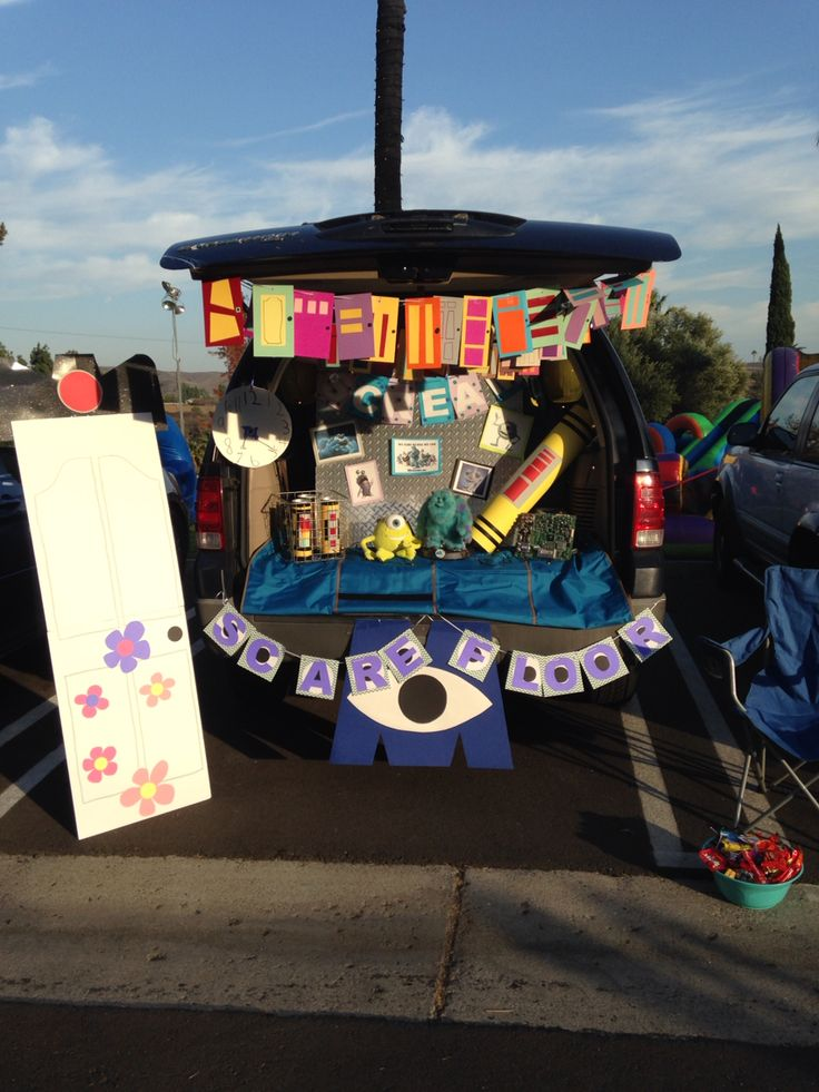 Monsters Inc., Trunk or Treat