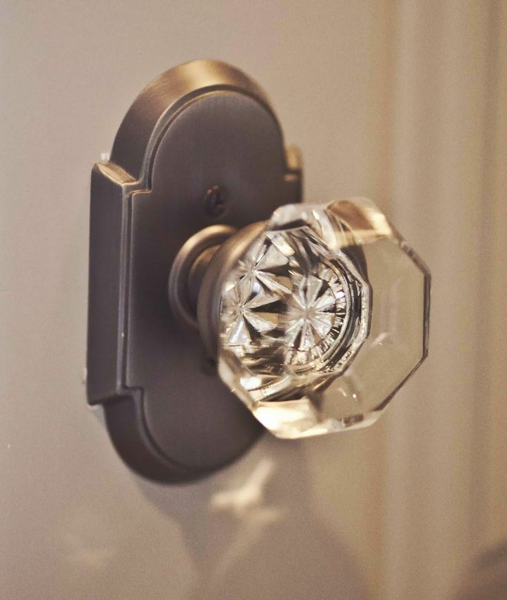 French style door knob, great miner detail to change the feel of a space.