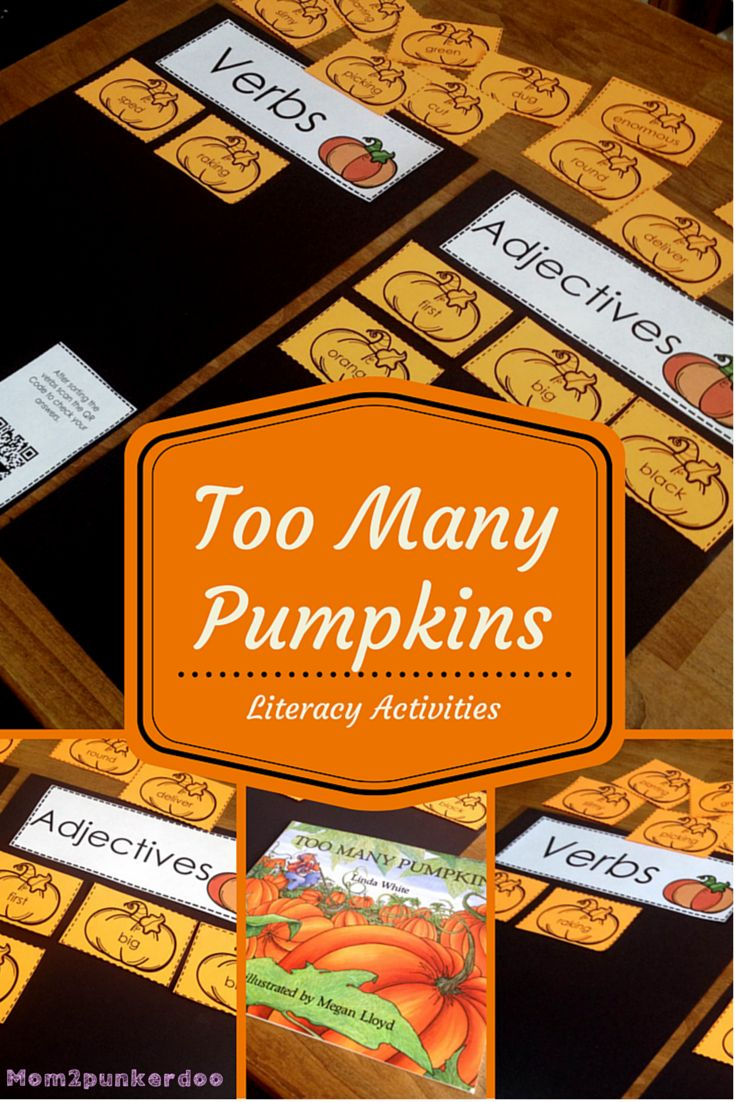 Pumpkin Read and Do Activity