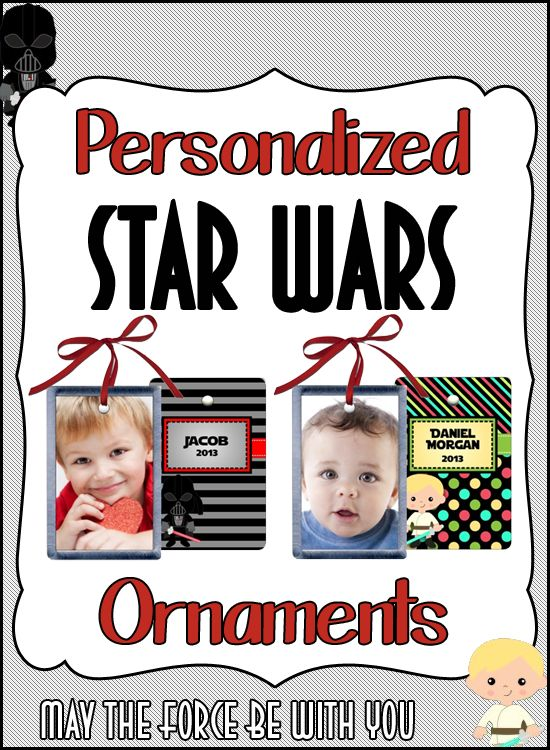 Christmas Ornaments Personalized