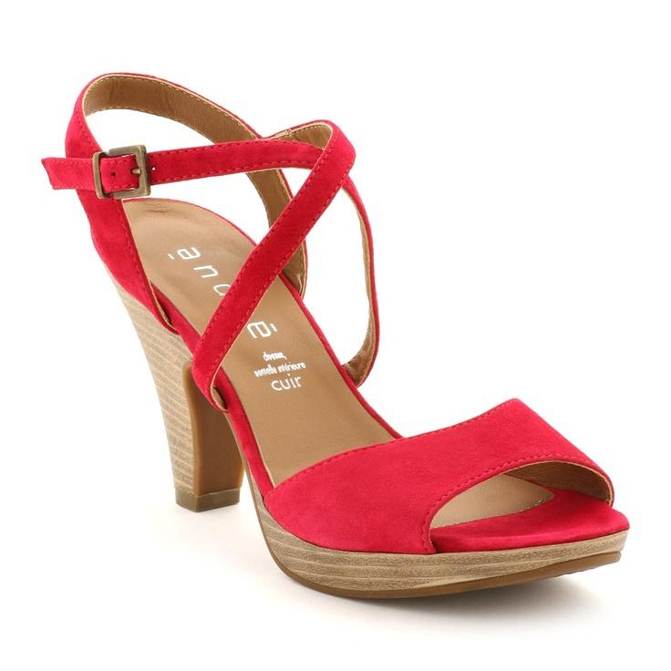 escarpins rouge
