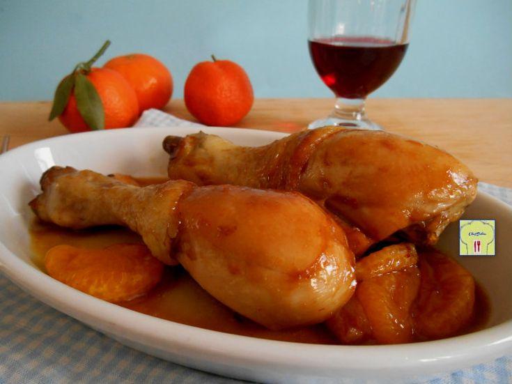 Pollo caramellato alla soia e mandarino