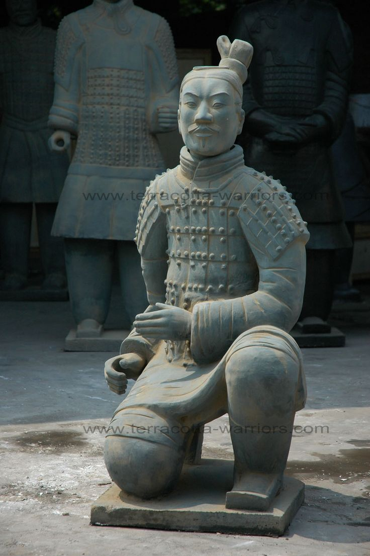 Terracotta Warriors: Replica Statues of Terra Cotta Army Soldiers .