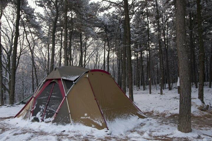 크리스마스 캠핑