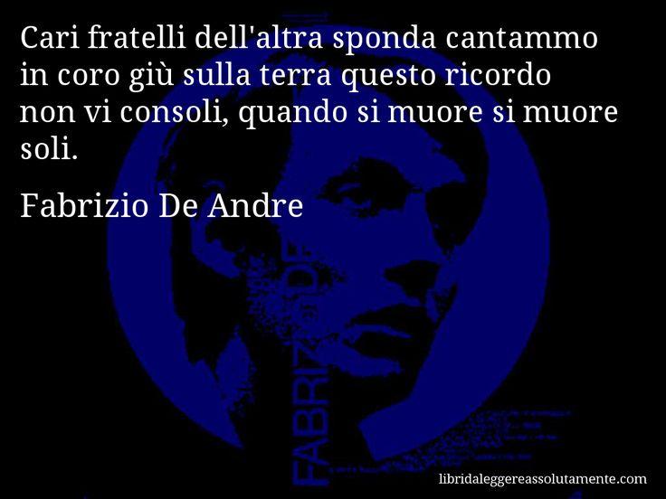 Cartolina con aforisma di Fabrizio De Andre (30)