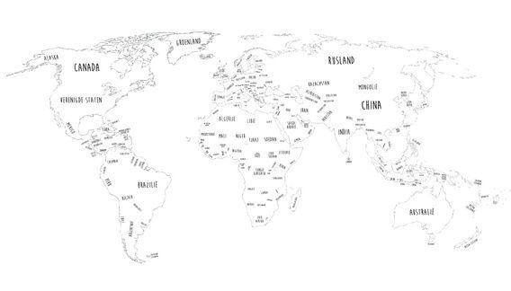 Nieuw in mijn Werk aan de Muur shop: Een Grenzeloze Wereld