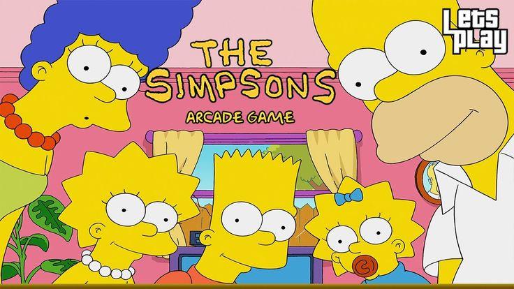 The Simpsons Arcade Game|KONAMI|Walkthrough Longplay HD