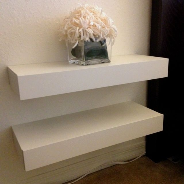 floating nightstand ideas | Floating nightstand