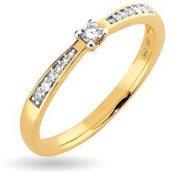 Paletti Jewelry - Amelie (diamond ring, K100-407KK) NordicJewel.com