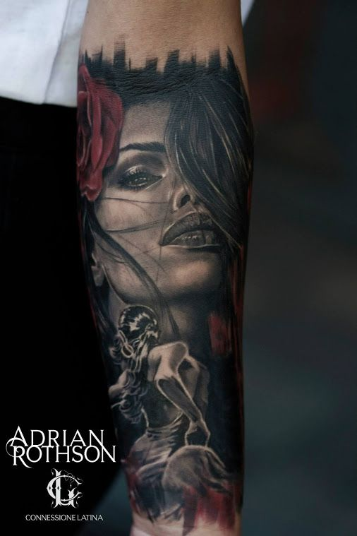 From artist adrian rothson of eternal tattoo studio for Eternal images tattoo