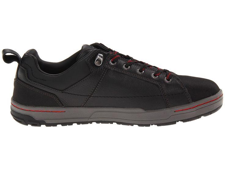 Caterpillar brode steel toe mens industrial shoes black