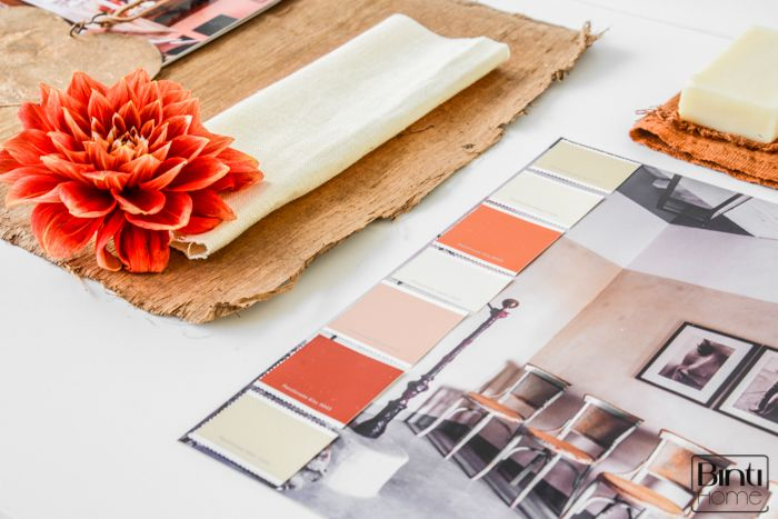 Binti Home Blog: 3d moodboard inspired by Passionate Argentina from Flexa