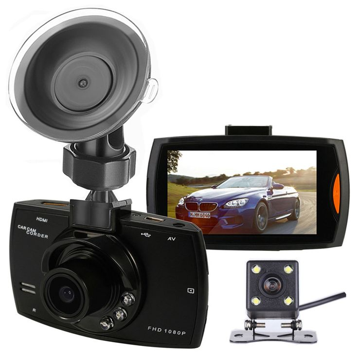 $42.99 Car Camera Dual Lens G30B 2.7″ FHD 1080P Video Recorder DVR With Backup Rearview Parking Camera Night Vision G-Sensor DashCam Features: – Super small volume, direct stick on the cars will not block line of sight, video registrator 1080 p ultra wide Angle lens perfect combination design, more convenient on various occasions a multi-angle, high ...