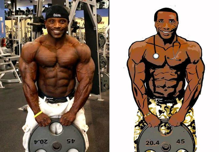 The original photo is of IFBB pro bodybuilder Charles Dixon. I saw the photo @ http://bodybuildersinc.yuku.com. My rendering isn't meant to be a perfect replica. I'm sure that's infringement of some sort. Instead Mr. Dixon serves as a photographic template of sorts. #beforeandafter #inspiration #bodybuilders #bullywhippet #muscles