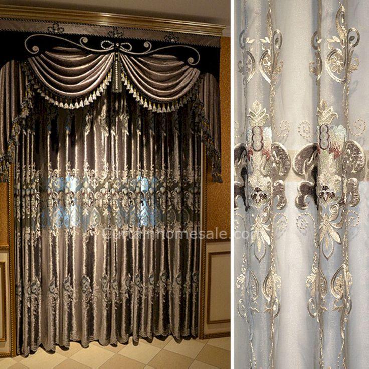Best 25+ Luxury Curtains Ideas On Pinterest | Luxury Living Rooms, Grey Living  Room Curtains And Best Curtains Part 90