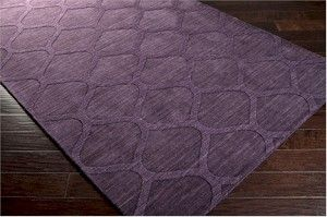 Surya Mystique M-5119 Prune Purple Area Rug