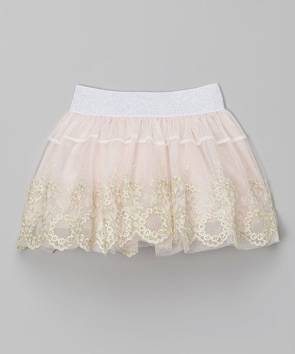 Look at this Pink Floral Skirt - Toddler & Girls on #zulily today!