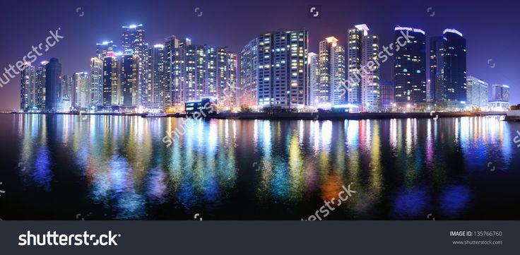 http://image.shutterstock.com/z/stock-photo-busan-south-korea-panoramic-skyline-at-haeundae-district-135766760.jpg