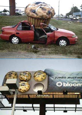 Stupid Car Crashes   Fresh Pics: Crazy Car Crashes....lmao too funny...muffin break anyone?