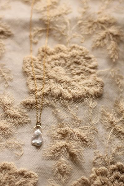 Pearl K18 Gold Necklace - IRRE