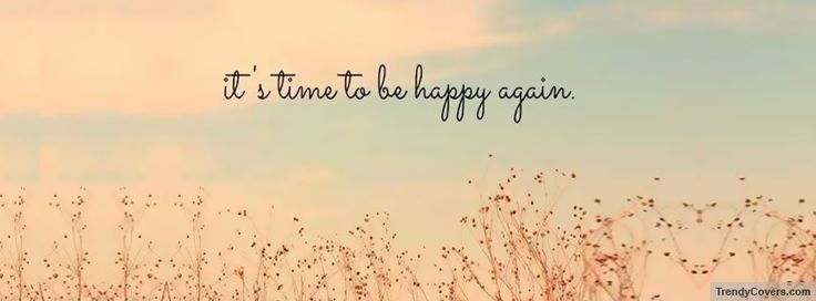 Be Happy Again Facebook Cover                                                                                                                                                     More