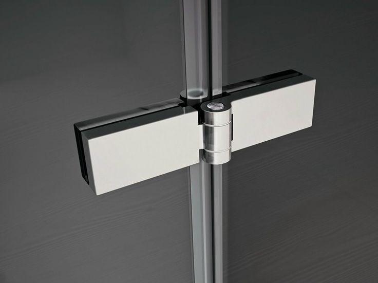 Cerniera per mobili in acciaio cromato SMART   Cerniera per mobili per ante in cristallo by IdeaGroup