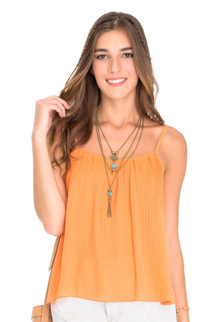 blusa plissada summer - Blusas   Dress to