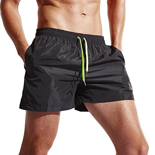 Men's Clothing - Mens Shorts Swim Trunks Quick Dry Beach Shorts with Pockets for Surfing Running Swimming Watershort * Want to know more, click on the image. (This is an Amazon affiliate link)