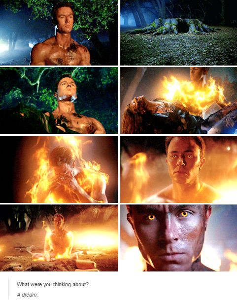 Flesh on fire teen wolf