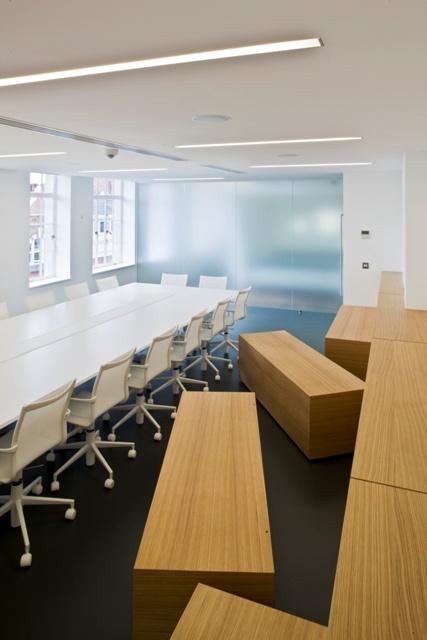 LG European Design Centre | Jump Studios, conference room seating, architecture, interior design, modern design, wood