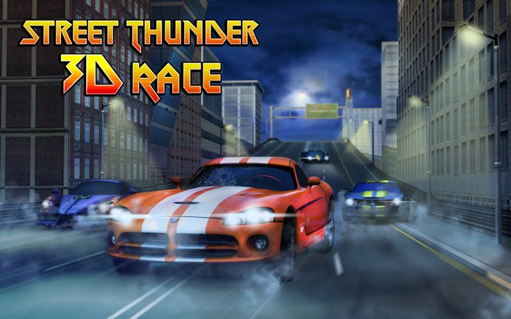 Get now our newest #Racing #Game and drive like a thunder on the night city streets!