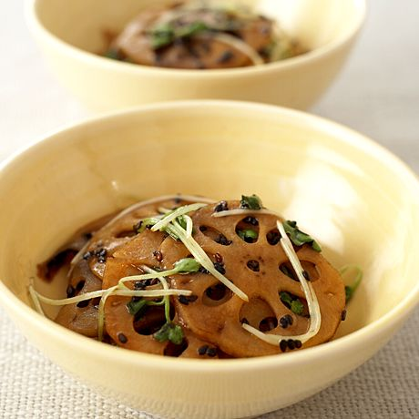 れんこんの黒ごまきんぴら | 坂田阿希子さんのおつまみの料理レシピ | プロの簡単料理レシピはレタスクラブニュース