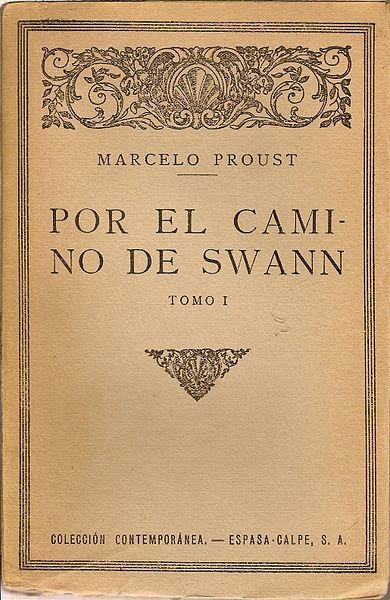 """#TalDiaComoHoy,  un 14 de noviembre de 1913,  Proust publica con su dinero 'Por el camino de Swann'. el que sería primer volumen de una de las obras cumbres de la literatura universal: """"En busca del tiempo perdido"""". Si no lo conoces y tienes interés, te lo prestamos en la biblioteca. Mira el especial que le dedica el periódico El País a Marcel Proust: http://cultura.elpais.com/tag/marcel_proust/a/"""