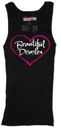 BD Heart Tank Top SubCulture Clothing Store