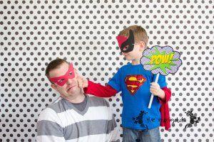 Superhero Comic Book #birthday #party photo booth idea
