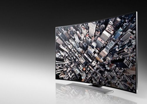 Samsung U9000 Series UHD TVs  - All-new curved consumer range - Available in three screen sizes (55in, 65in and 78in) - Wall-mountable