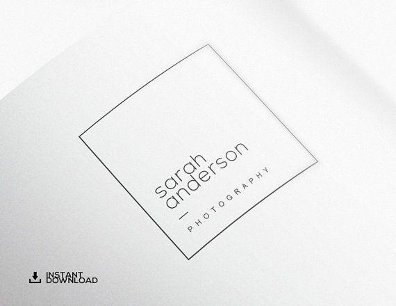 DIY Photography Logo Design. Premade Logo. Logo Design. Business Logo. Logo…