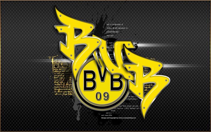 BVB 09 - Wallpaper - Design by screenpainting.com Logo by BVB Dortmund